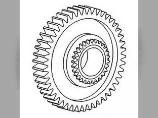 Transmission Gear 2nd & 5th Ford 4340 4400 3400 2300 2600 2000 3000 4200 3600 4000 4110 957E7101B