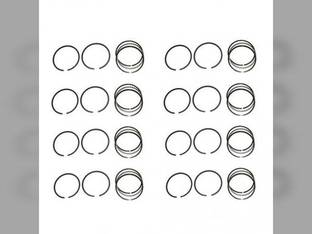Piston Ring Set - Standard - 8 Cylinder Massey Ferguson 1155 Perkins 540