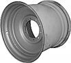 27x32 10 Hole Combine Rim - Silver