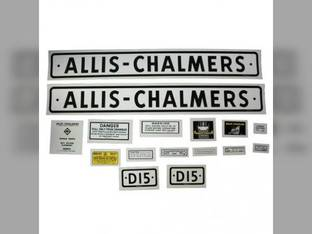 Decal Set Allis Chalmers D15