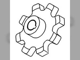 Upper Return Grain Elevator Chain Sprocket White 8900 7600 8700 8650 7800 8800 8920 SP112