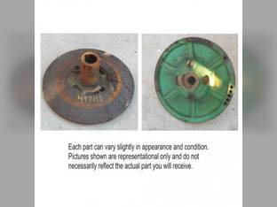 Used Cylinder Drive Pulley Half H84416 John Deere 6601 6600 7701 7700 6602 AH84886