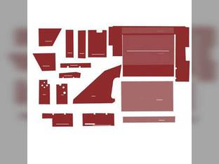 Cab Foam Kit less Headliner Red International 3688 5088 6588 7488 6788 6388 3488 7288 3088 5288 5488