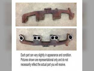 Used Exhaust Manifold John Deere 7800 7700 R93397