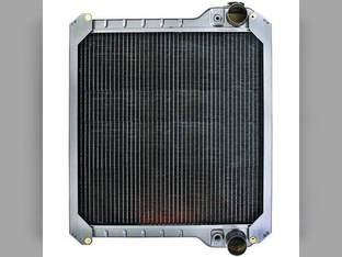 Radiator - Copper / Brass with Metal Tank Case IH MX110 MX170 MX150 MX100 MX135 MX120 135690A3