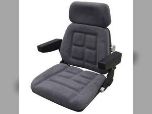 Seat Assembly Fabric Gray Case IH 7150 9230 7110 9190 9180 9390 9150 9240 9210 9110 7240 9380 9350 7220 8910 7230 9130 7140 9270 8920 8940 9310 9330 8930 7120 7130 9170 9370 7210 9260 9250 9280