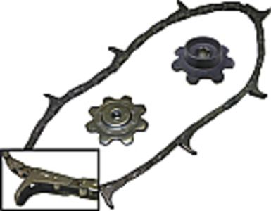 Cornhead Chain and Sprocket Kit