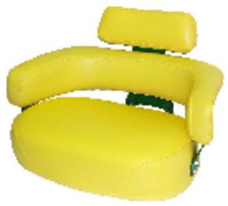 Seat, Cushion, 3 Piece Set, w/Brackets