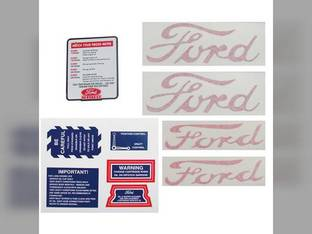 Decal Set Ford NAA
