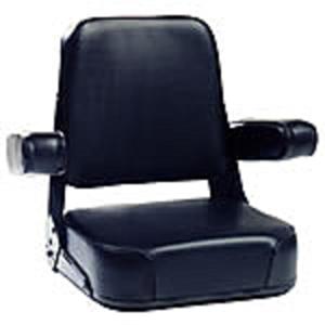 Seat Assembly - Black Vinyl