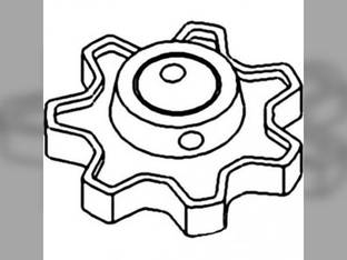 Thresher And Separator Rattle Sprocket Gleaner M M2 M3 L3 L L2 SP141H