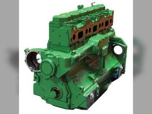 Remanufactured Engine Assembly Basic Block 7.6L John Deere 6076 4455 4255 4055 SE500211