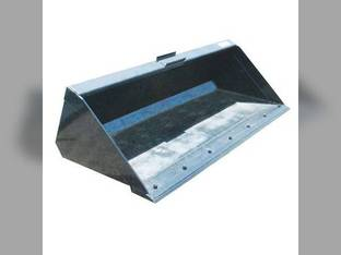 Stout - Skid Steer Material Bucket with Double Cutting Edge 84""