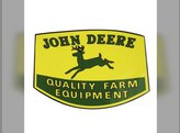 "Decal - ""Quality Farm Equipment"" 4 1/2""x 6"" Mylar John Deere 4020 3020 4000 3010 2040 2030 1020 2020 2520 2510 2440 830 2640 1520 820 1530 2240 2630 720 630 730 70 620 530 A 2010 B 2840 60 520 1010"