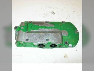 Used Engine Oil Cooler Cover John Deere 9650 STS 6610 9650 7820 9120 8410 9750 STS 9100 9650 CTS 7710 8420 7810 7920 9510 8310 8320 8400 CTSII 9550 8210 8220 9550 SH 9660 7200 8120 8520 8110 9610