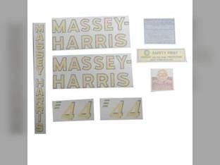 Decal Set Vinyl Massey Harris 44