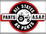 "Exhaust Stack - 2-15/16"" FL X 48"" Straight Chrome John Deere 4240 4230 3020 4030 4010 4000 4020"
