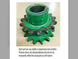 Used Straw Walker And Shoe Drive Sprocket John Deere 7701 7700 6600 6601 6602 AH87249