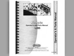 Operator's Manual - KU-OP-L285 Kubota L285