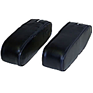 Arm Rests - New Style, Black Vinyl