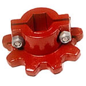 Feederhouse Chain Split Sprocket - Hardened