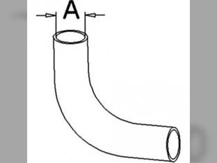 Radiator Hose - Lower Massey Ferguson 699 1692870M1
