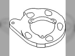 Brake Actuating Disc White 2-62 2-85 2-78 4-78 2-63 10P3140 Oliver 1650 1555 1655 1550 Minneapolis Moline G750