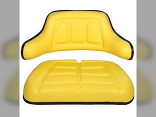 Seat, Cushion & Wrap Around Back, 2 Piece Set
