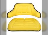 Seat, Cushion & Wrap Around Back, 2 Piece Set