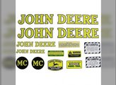 Decal Set John Deere MT