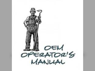 Operator's Manual - IH-O-245 255 International Harvester Case IH 255 245