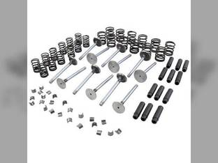 Valve Train Kit - 45° Valve Seat Angle Massey Ferguson 3120 399 396 3095 6170 4260 4270 Perkins 1006-6