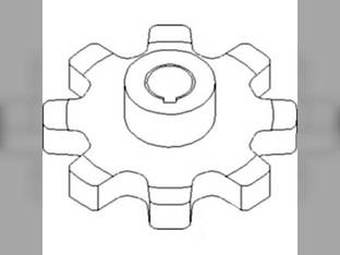 Sprocket - Upper Clean Grain / Return Grain White 8600 8600 8800 8800 8900 8900 8700 8700 Massey Ferguson 8570 8570 9690 9690 9790 9790 8560 8560 8780 8780 Challenger / Caterpillar 660B 670B 670B