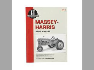 I&T Shop Manual Collection - MH-5A Massey Harris 23 23 21 21 44 44 33 33 555 555 55