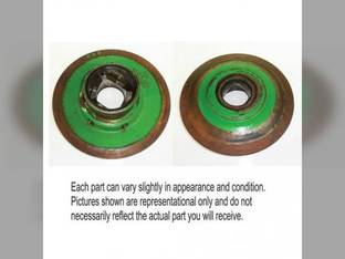 Used Feeder House Lower Shaft Outer Pulley Half JD H204862 John Deere 9650 9750 9860 9660 9560 9760 AH204587