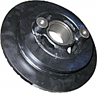 Pulley with Dampener, Singular Groove, without AC