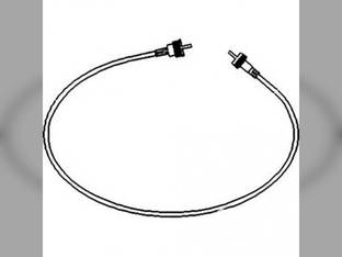 Tachometer Cable International 485 585 785 885 537494R91