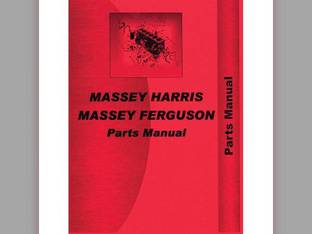 Parts Manual - MH-P-44 44K LT Massey Harris/Ferguson Massey Harris 44 44