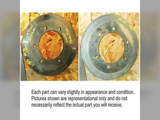 Used Inner Brake Plate Massey Ferguson 1105 1135 1155 529646M1