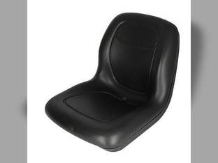 Bucket Seat Vinyl Black John Deere 240 4710 4700 4610 4500 4510 4600 325 335 4410 4400 4300 4310 4200 4210 655 655 70 755 7775 890 8875 855 955 Komatsu Massey Ferguson Caterpillar 242 New Holland