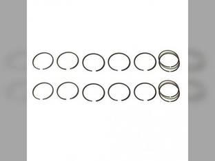 "Piston Ring Set - .045"" Oversize - 2 Cylinder John Deere 530 520 190 AB5320R"