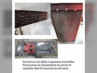 Used Condenser with Fuel Cooler Case IH 2388 2377 275094A4