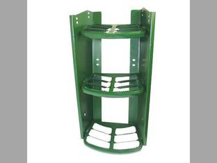 Step Assembly 3 Steps John Deere 7320 7320 6420 6420 7520 7520 6120 6120 6615 6615 6320 6320 7220 7220 7420 7420 6715 6715 6605 6605 6220 6220 AL156877