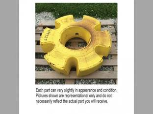 Used Rear Wheel Inner Weight John Deere 9400 4960 9300 4760 8560 4560 8300 7820 9120 8410 9100 8420 7920 8310 8320 8400 8100 8570 8760 8210 8220 4455 7720 9200 8120 8430 8520 4755 8110 4555 8200 4955