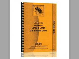 Parts Manual - KU-P-L3750+ Kubota L3750 L4150