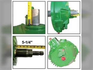 Remanufactured Feeder House Reverser Gear Box Assembly John Deere 9860 9770 9760 9660 9670