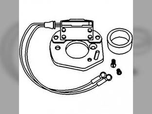 Electronic Ignition Kit - 12 Volt Negative Ground International C 354 Super M 600 HV A M H 300 400 B414 Super C Super A B Super MTA Super H Case 200B 310 420 Massey Ferguson 35 50 John Deere 3010