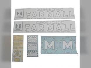 Vinyl Decal Set - Farmall & M International M