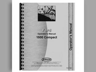 Operator's Manual - 1500 Ford 1500