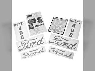 Decal Set Ford 800